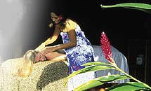 ハワイ ロミロミマッサージ