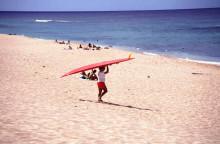 ハワイ 海 サーフィン