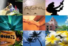 ハワイ写真 ハワイアンロミロミ
