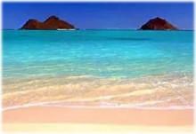 カイルアビーチ 天国の海