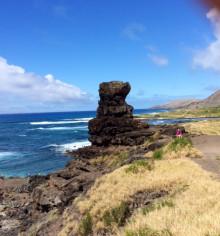 ハワイ写真 オアフ島 ペレの椅子