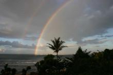 ハワイ 虹